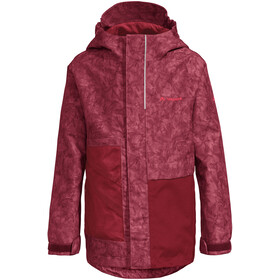 VAUDE Faunus 2L Jacket Kids red cluster